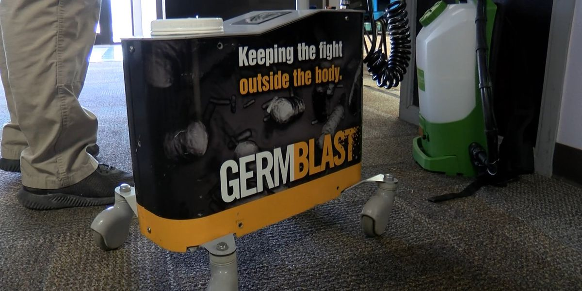 Lubbock ISD teams up with GermBlast to spray schools to combat germs