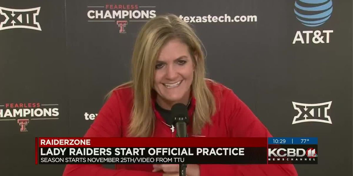 Lady Raiders start practice with Gerlich as new head coach