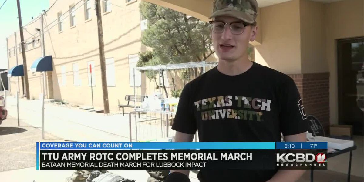 TTU Army ROTC completes memorial march