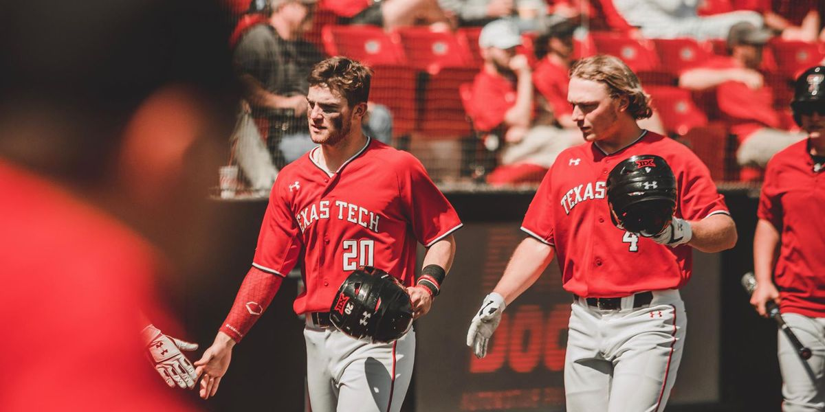No. 11 Red Raiders Rout Kansas to Secure Series Win