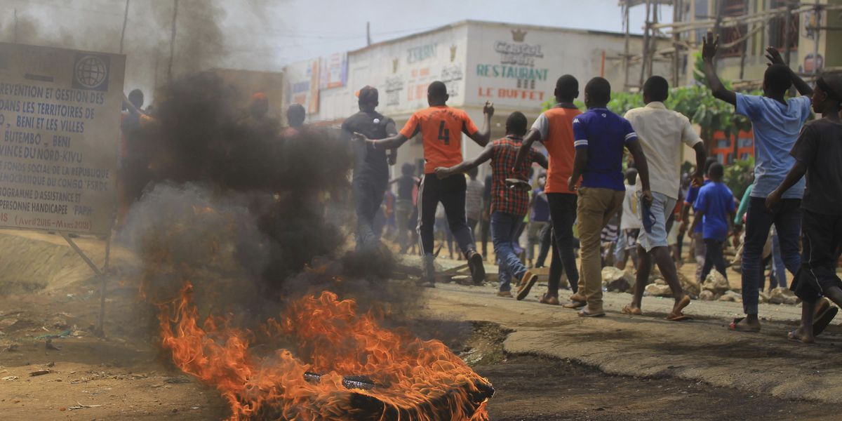 Police in DRC fire at protesters