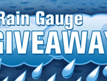 Rain Gauge Giveaway Official Promotion Rules 2020