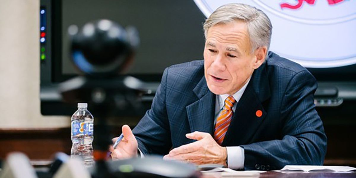 WATCH LIVE: Governor Abbott providing update on COVID-19