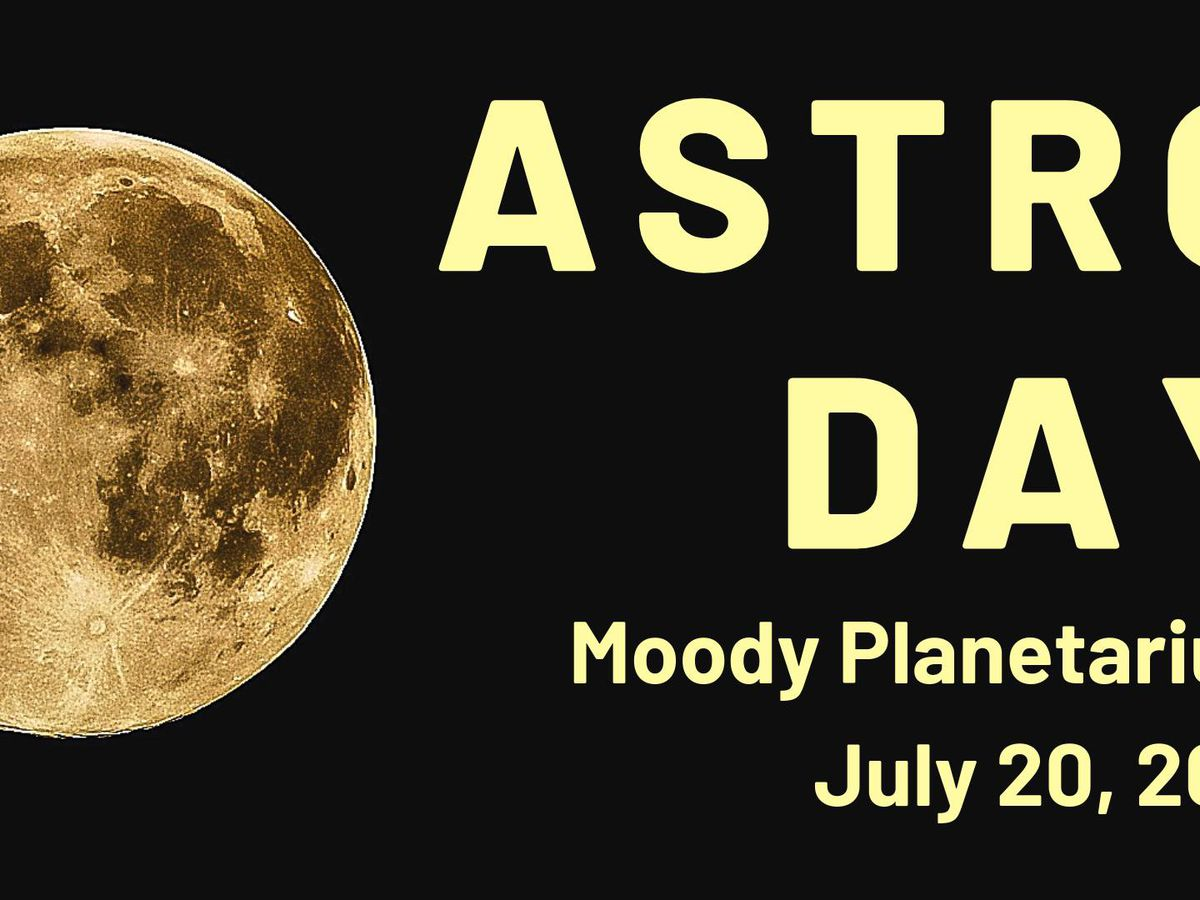 Moody Planetarium hosting Astro Day on Saturday