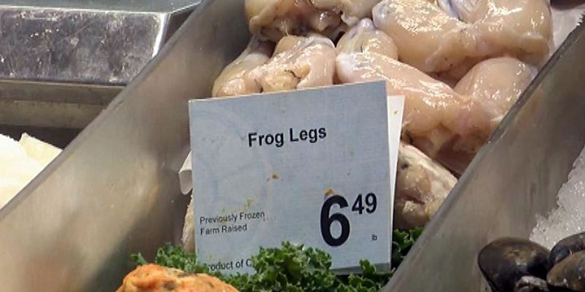 Tailgaters buying up frog legs for Tech vs. TCU game