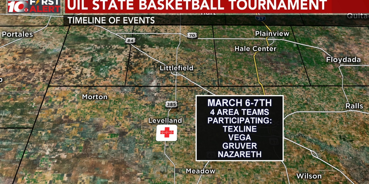 Map shows timeline of possible COVID-19 spread from regional basketball tournament