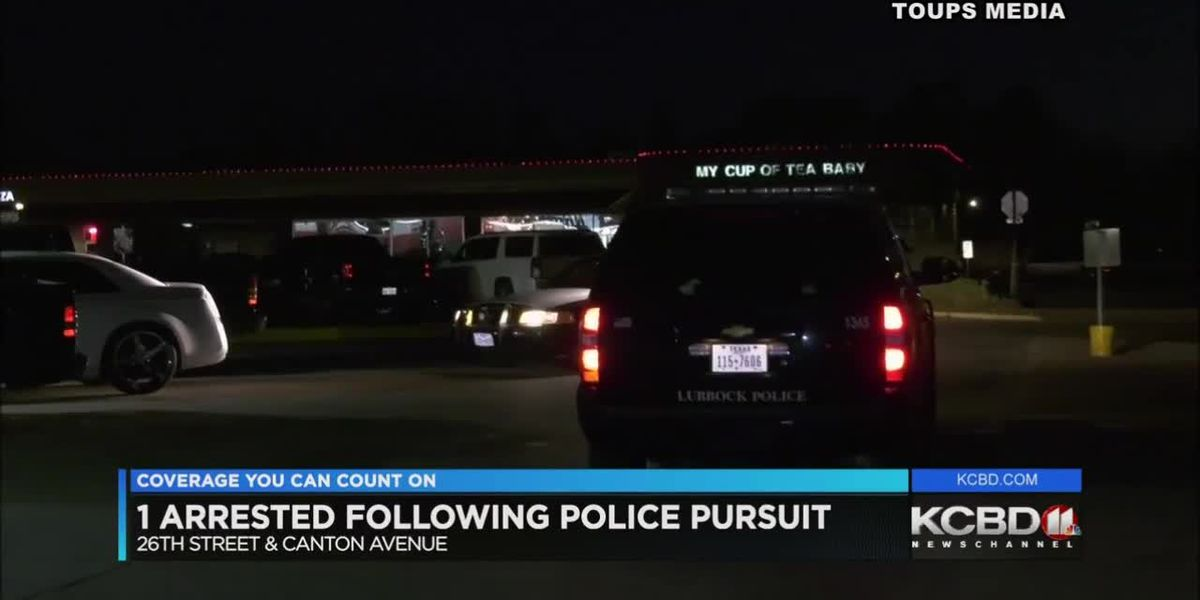 1 in custody after police chase