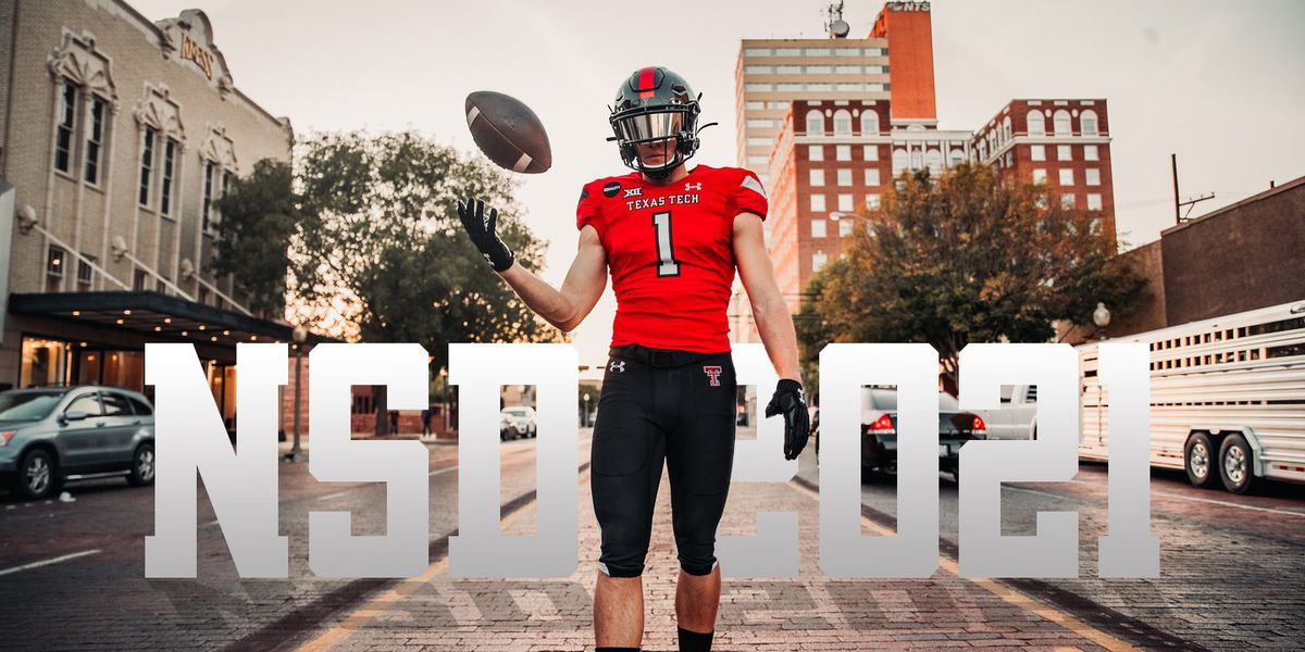 Texas Tech adds 10 high school prospects to kick off early signing period