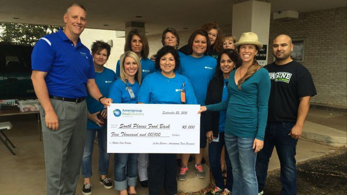 South Plains Food Bank and Amerigroup Texas partner to ...