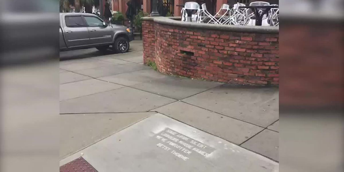 This SC city has hidden 'rain poems' popping up all over town