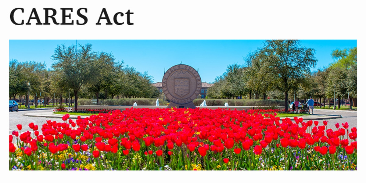 CARES Act aid available to Texas Tech students
