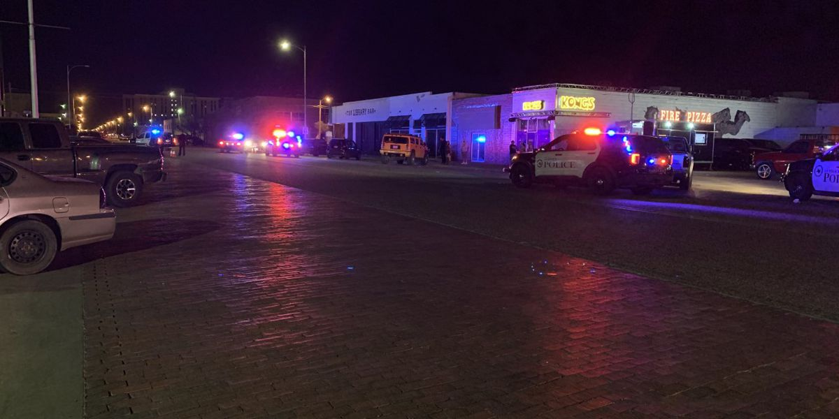 Lubbock police respond to shots fired in Depot District early Friday morning