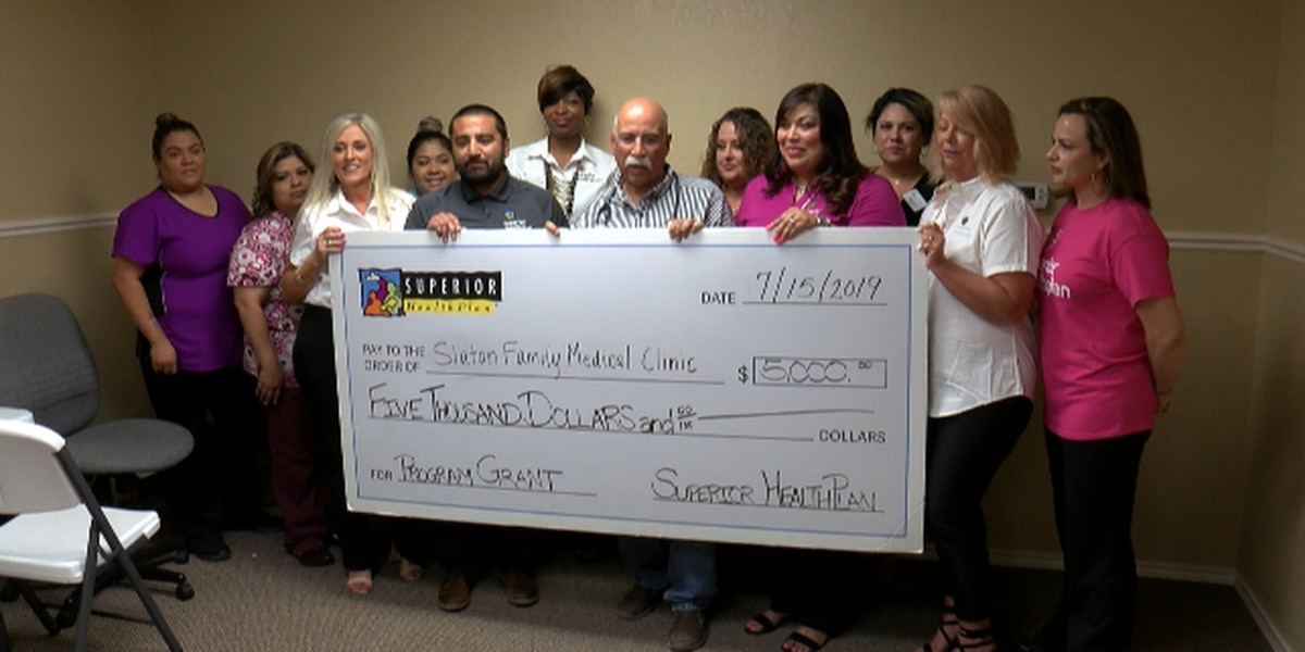 Family Medical Clinic receives grant to help rebuild after fire in Slaton