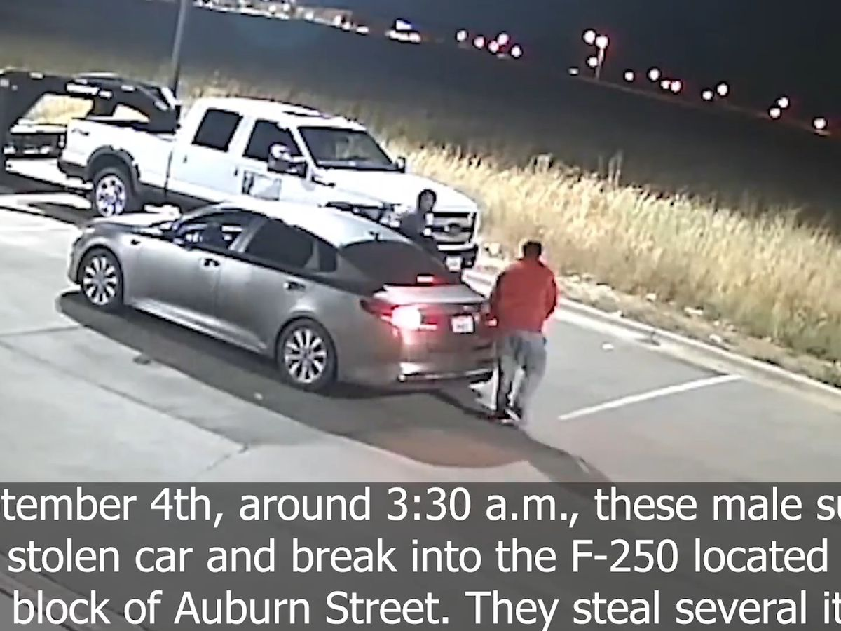 WANTED WEDNESDAY: LPD searching for vehicle burglary suspects