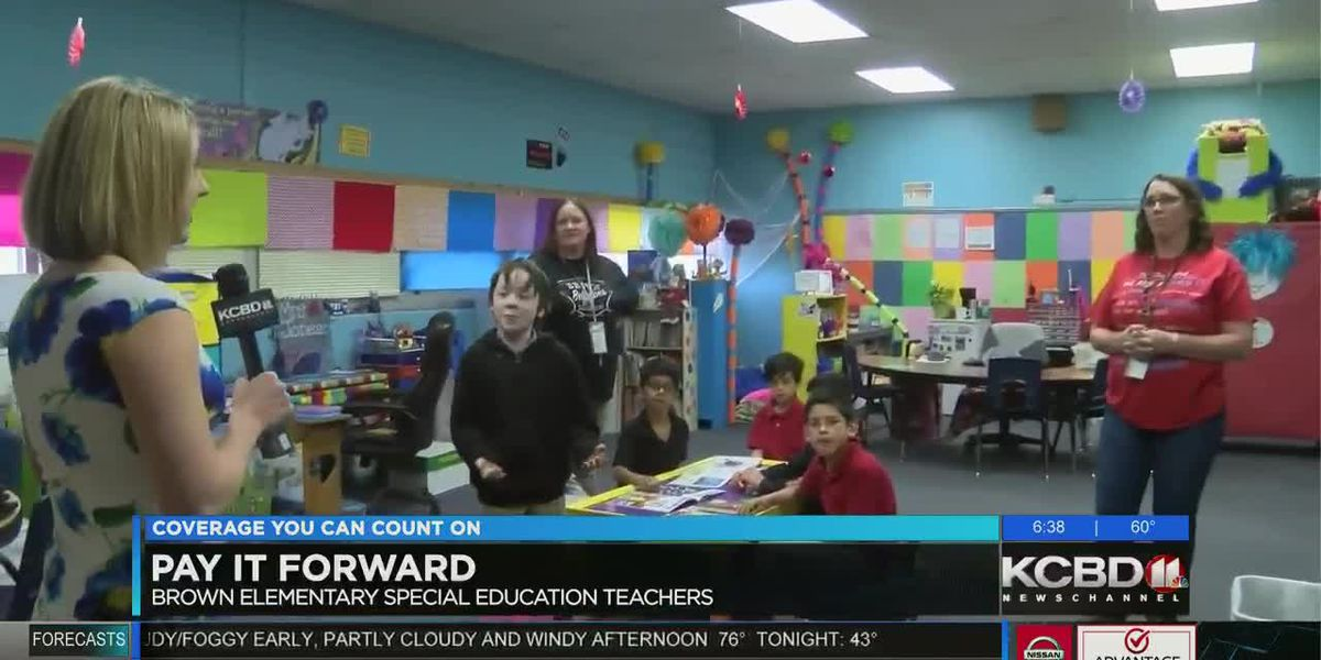 Pay It Forward: Helping the Brown Elementary Special Education Department