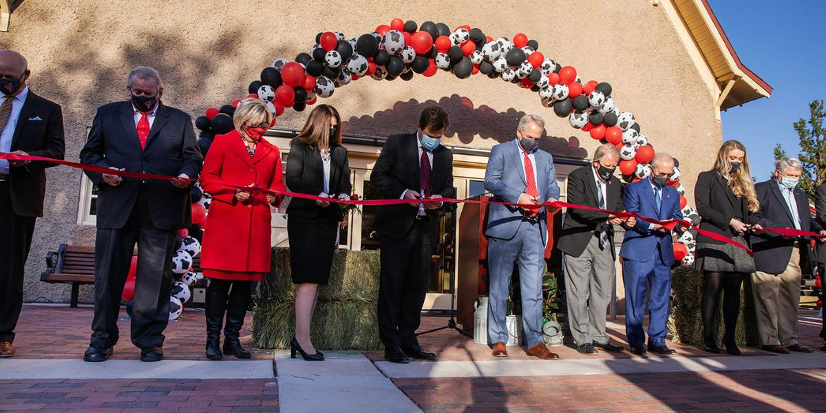 Texas Tech unveils renovations to historic Dairy Barn