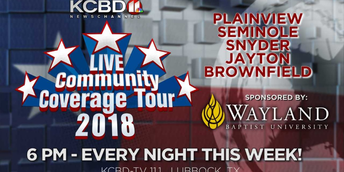 Community Coverage Tour: Watch for us as we come to your town