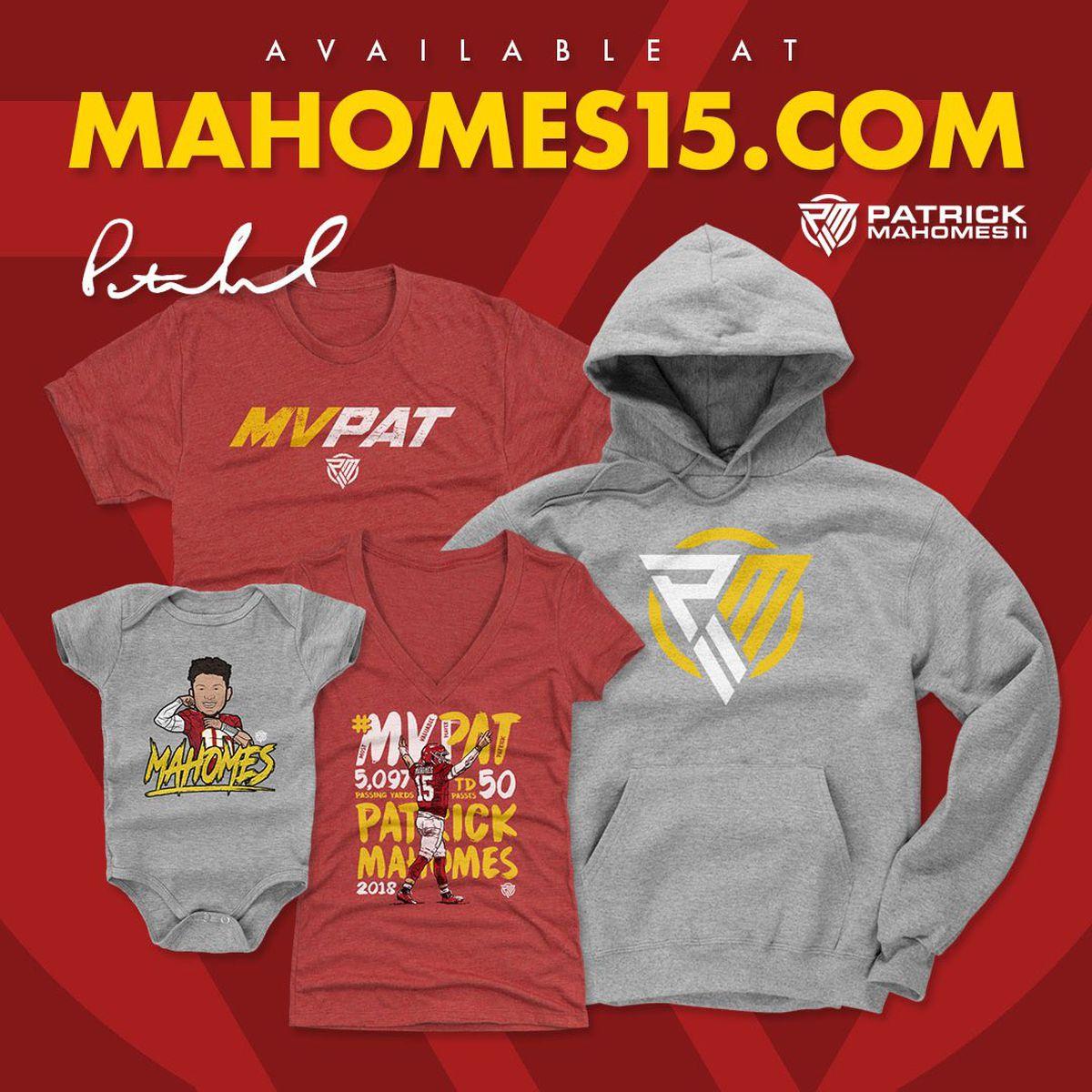 Patrick Mahomes debuts new apparel line 24ee394b6