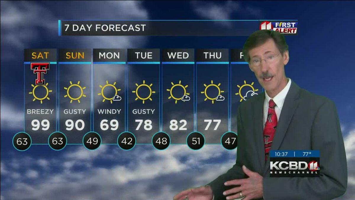 KCBD Weather at 10 for Friday, Sept. 25