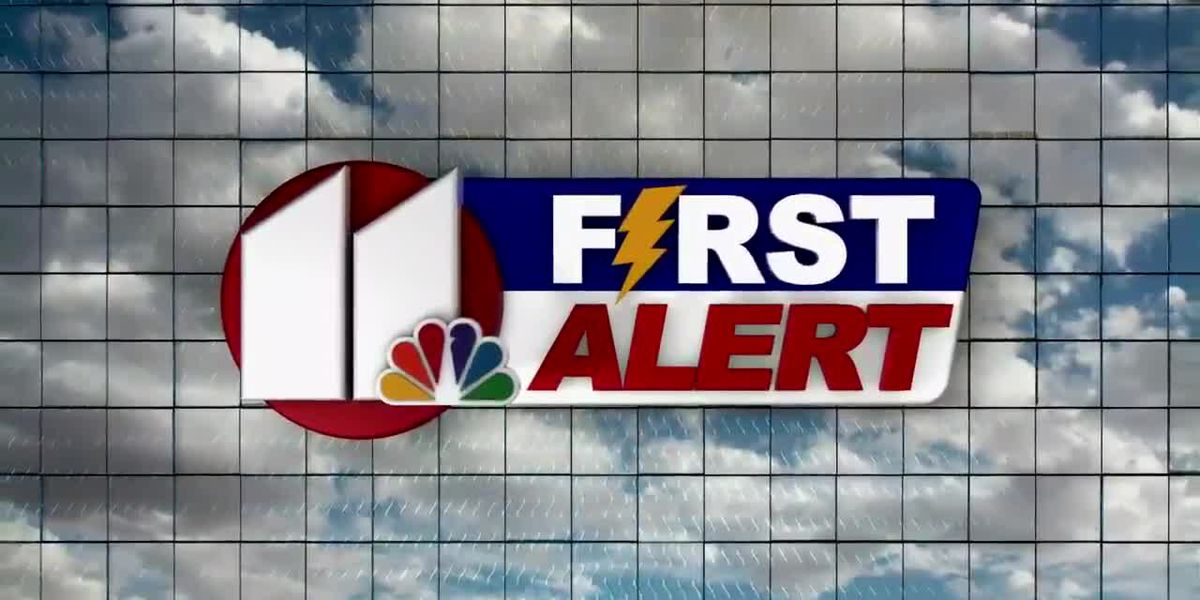 First Alert Weather: Fog, sun, thunder, rain, wind, dust.