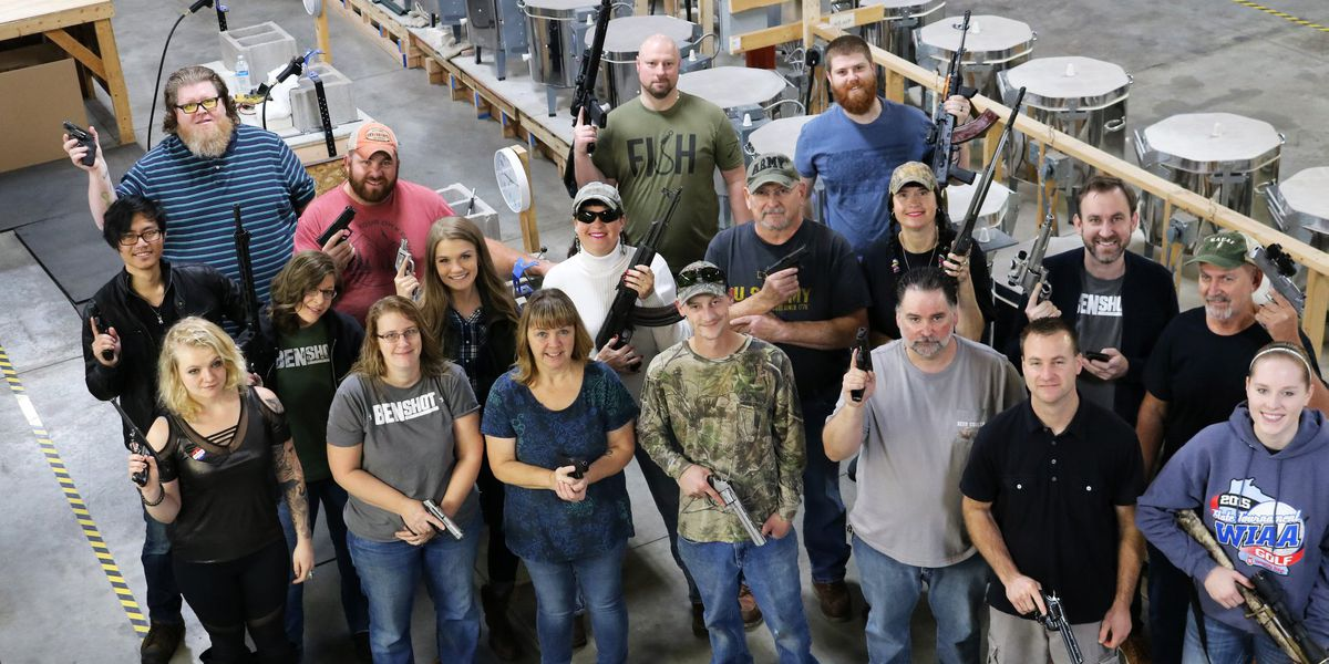 'Tis the season: Company gives all its employees guns
