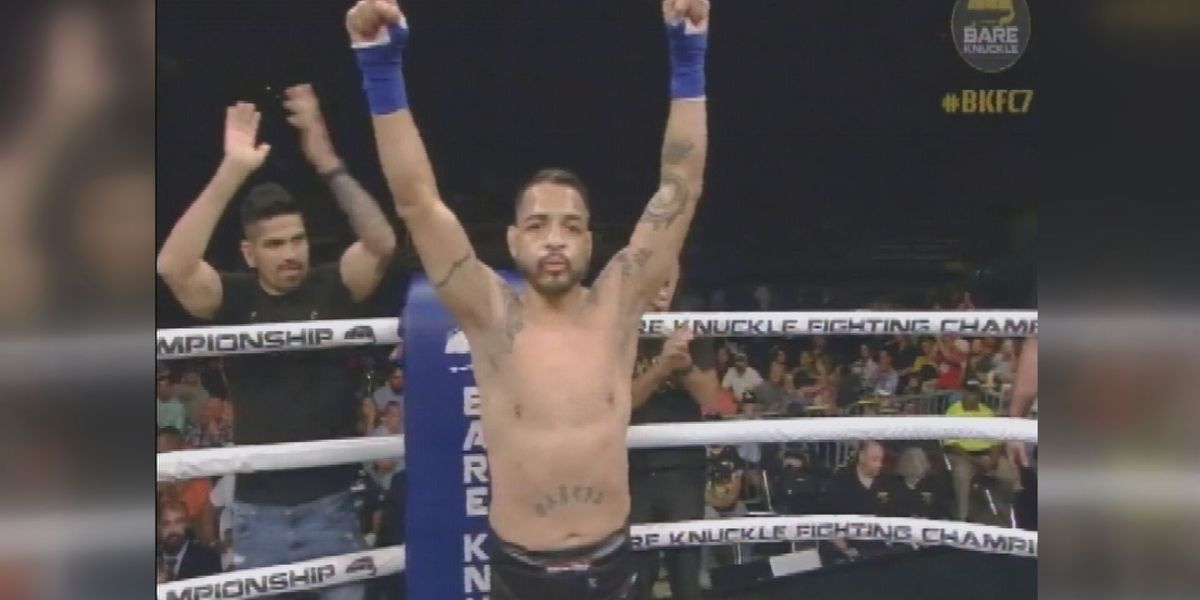 "Leonard ""Bad Boy"" Garcia falls in Bare Knuckles Fighting Championships 7"