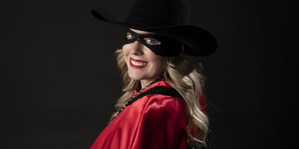 Cameron Hekkert takes the reins as Texas Tech's new Masked Rider