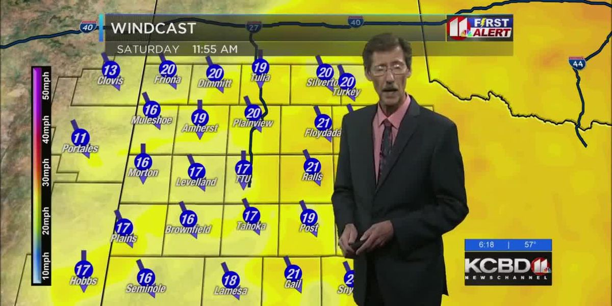 KCBD Weather at 6 for Jan 18
