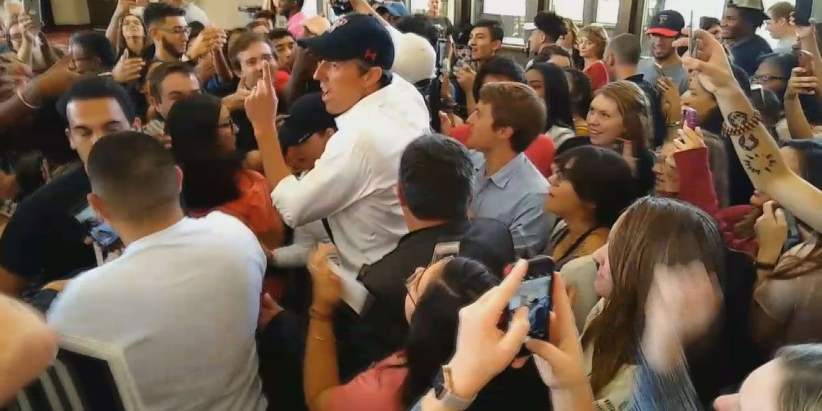O'Rourke rallies large crowd at Lubbock Civic Center