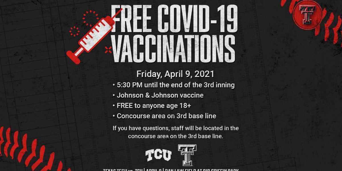 Free COVID-19 vaccine clinic for ticket holders to Friday Tech baseball game