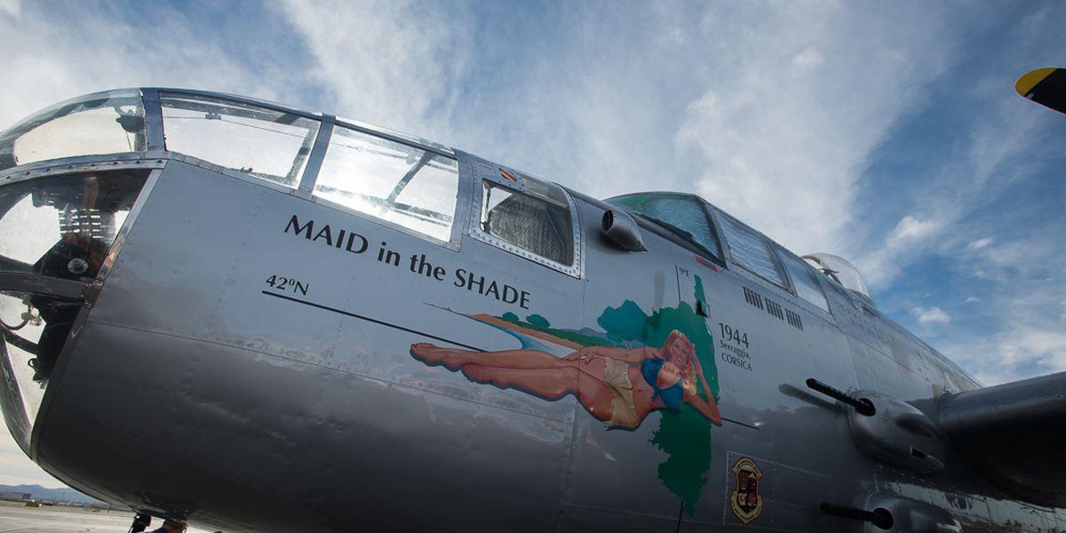 World War II plane making tour stop in Lubbock