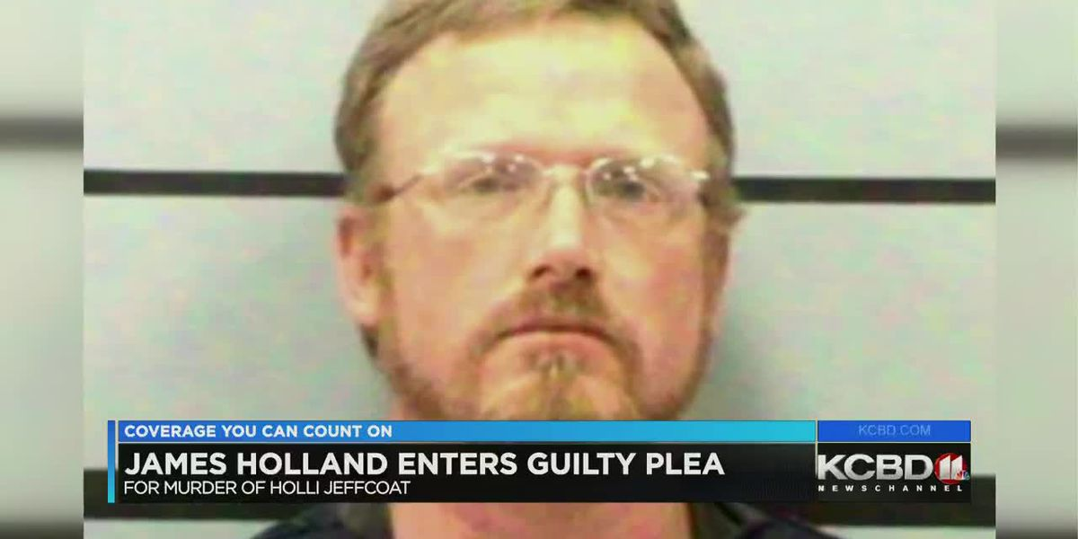 James Holland enters guilty plea in Jeffcoat murder