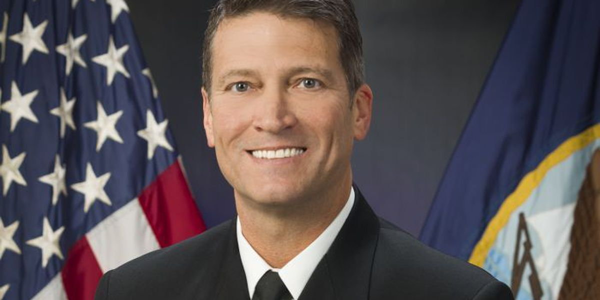 Levelland native Ronny L. Jackson becomes Chief Medical Advisor to the president