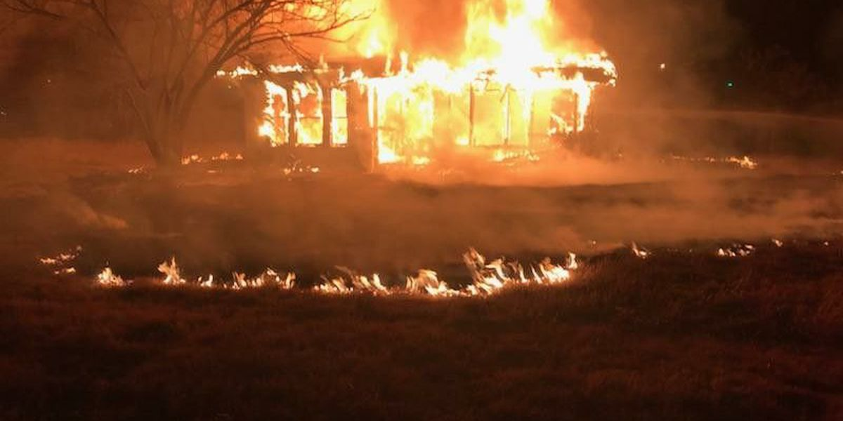 Sudan Fire/EMS called to early morning structure fire