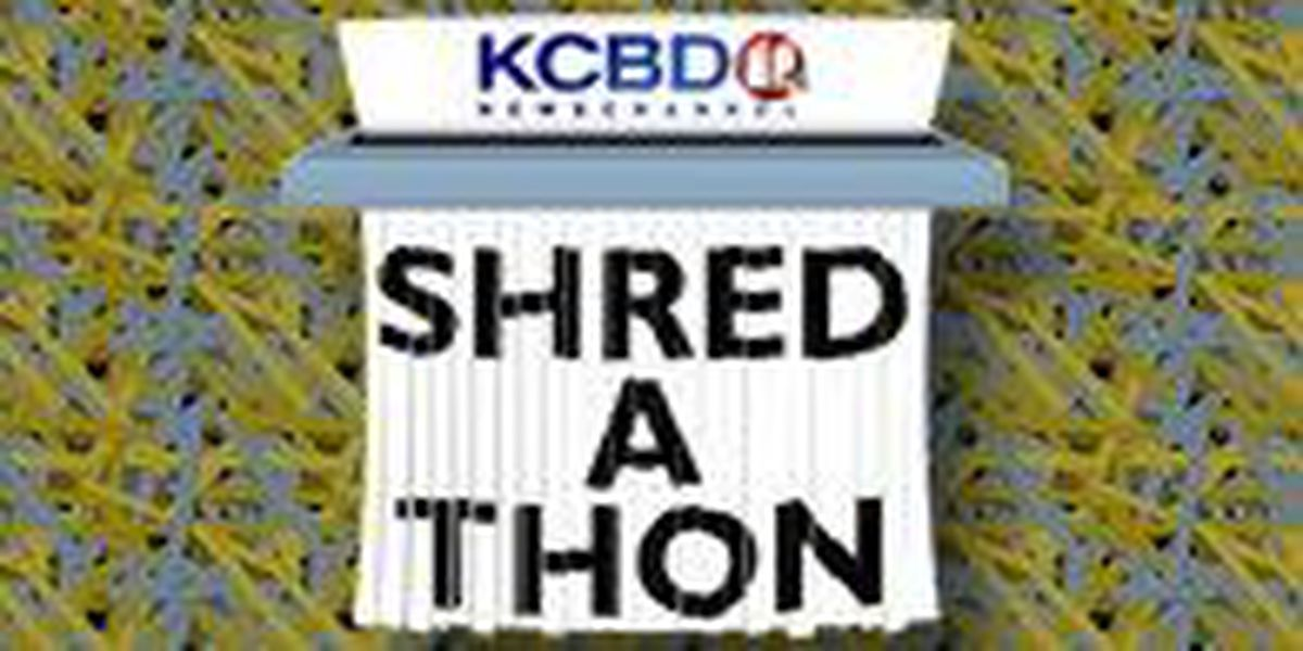 Shred Documents at 1st Annual KCBD Shred-A-Thon