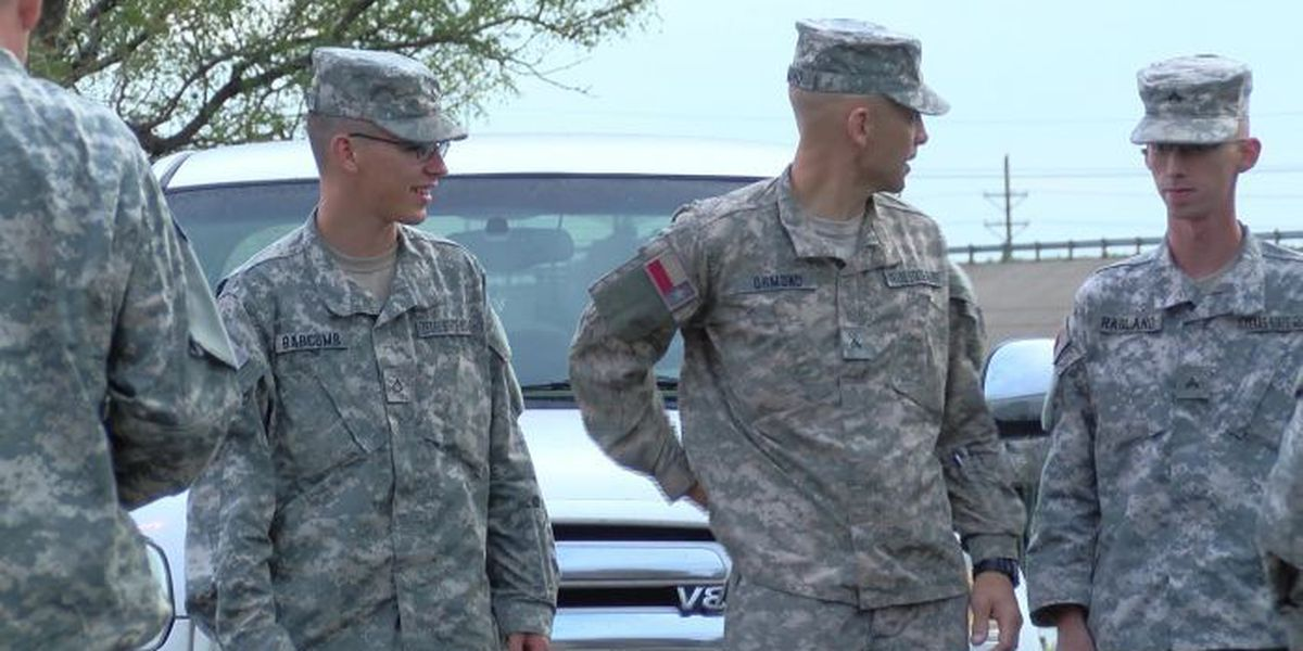 Texas State Guard returns from relief efforts in Houston