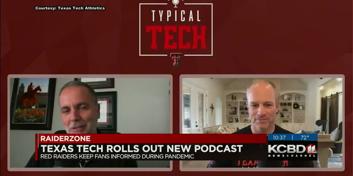 Texas Tech rolls out new podcast