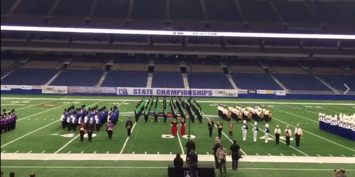 Area schools take top 3 spots in 1A State Marching Band contest