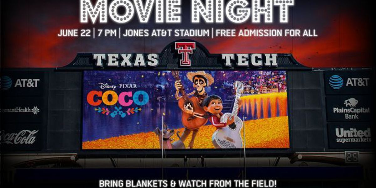 Movie Night at the Jones features Coco, June 22