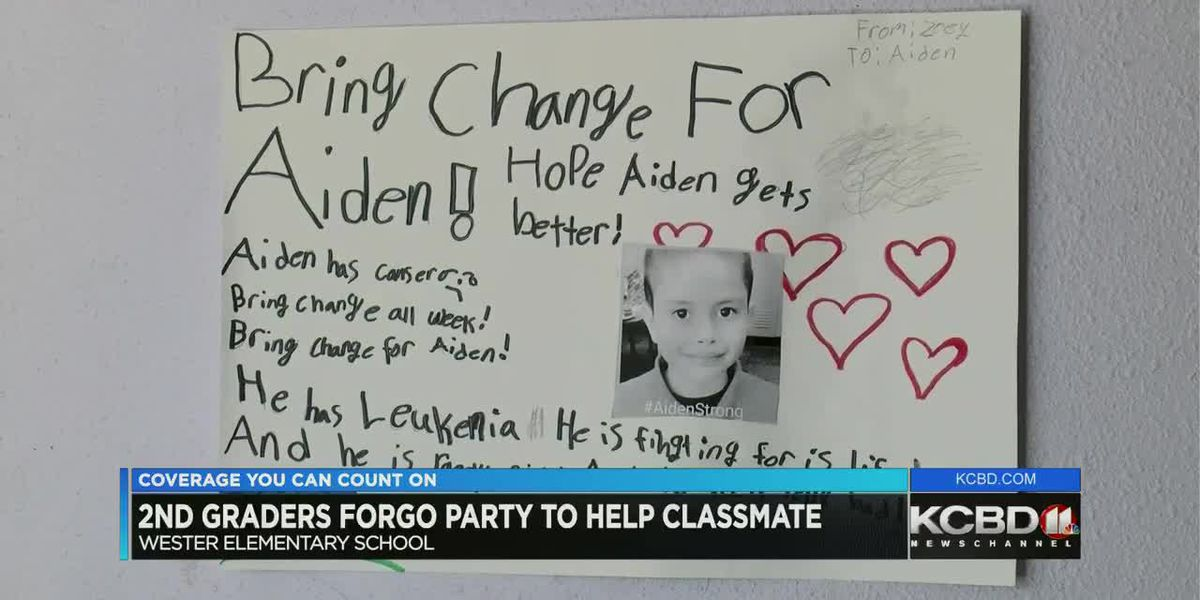 2nd graders forgo party to help classmate