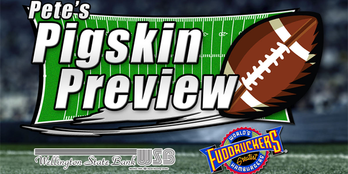 Pete's Pigskin Previews, every night at 6 & 10