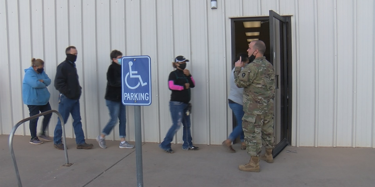 Texas National Guard vaccinates Yoakum County residents in effort to 'Save Our Seniors'