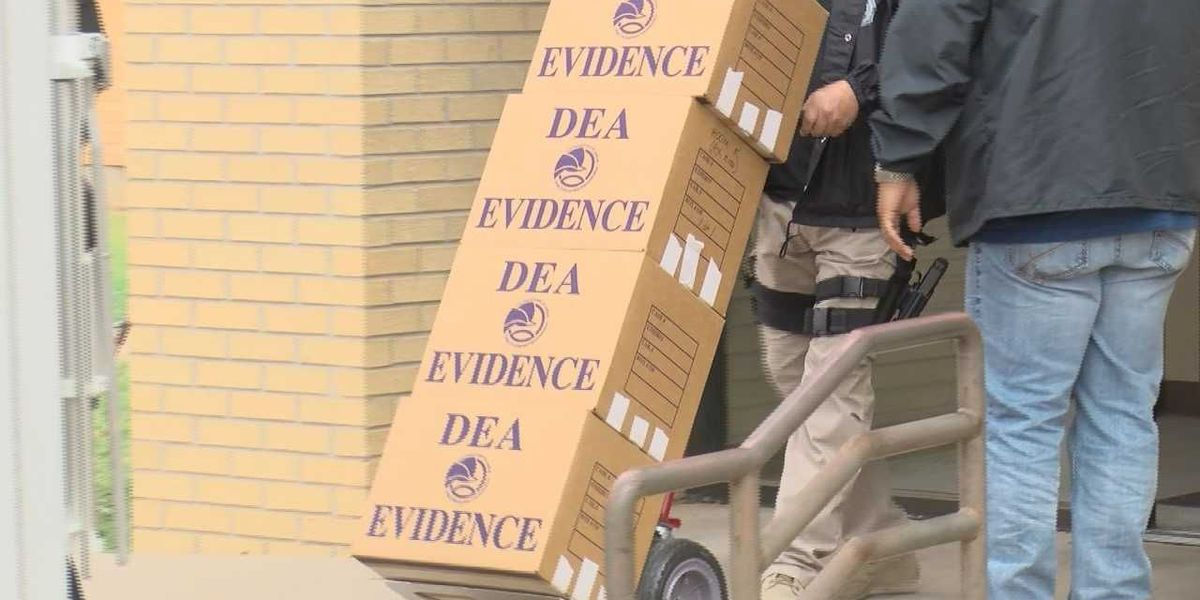 DEA agents raid Brownfield doctor's office