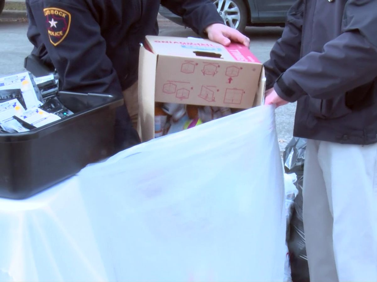 LPD teams up with Lubbock Spine Institute for medication take back event