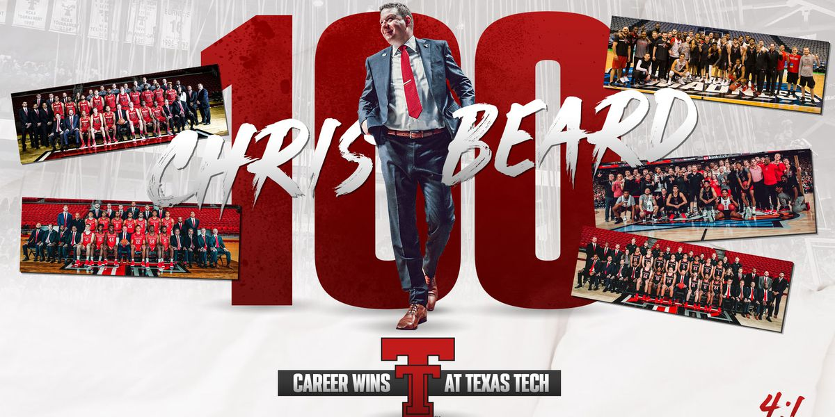 Chris Beard records win No. 100 as Red Raiders beat Texas A&M Corpus Christi