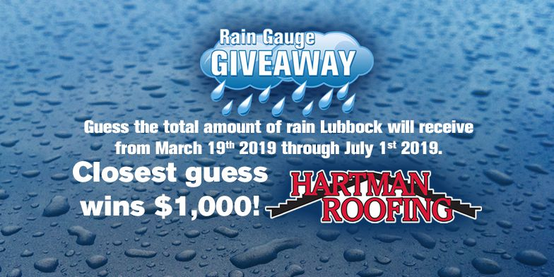 Rain Gauge Giveaway Official Promotion Rules