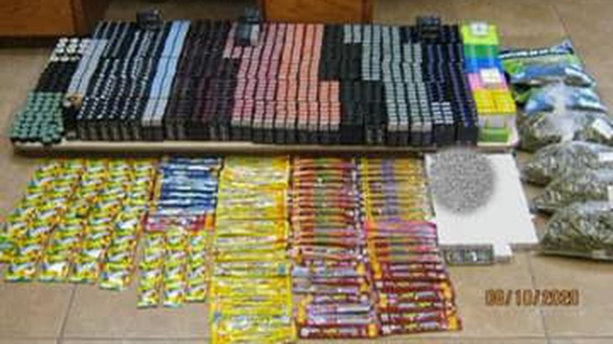 137 pounds of assorted THC products seized Friday near Amarillo