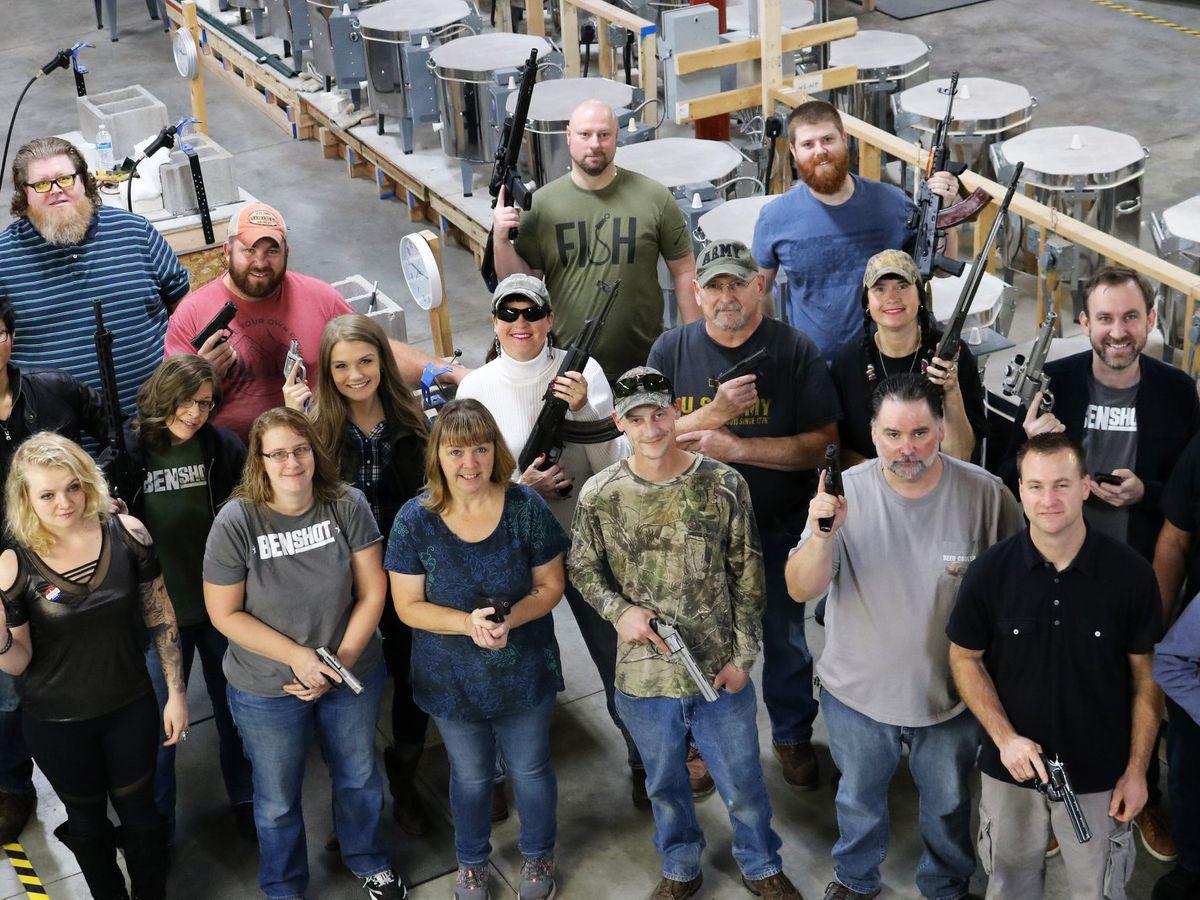 'Tis the season: Company gives all its employees guns