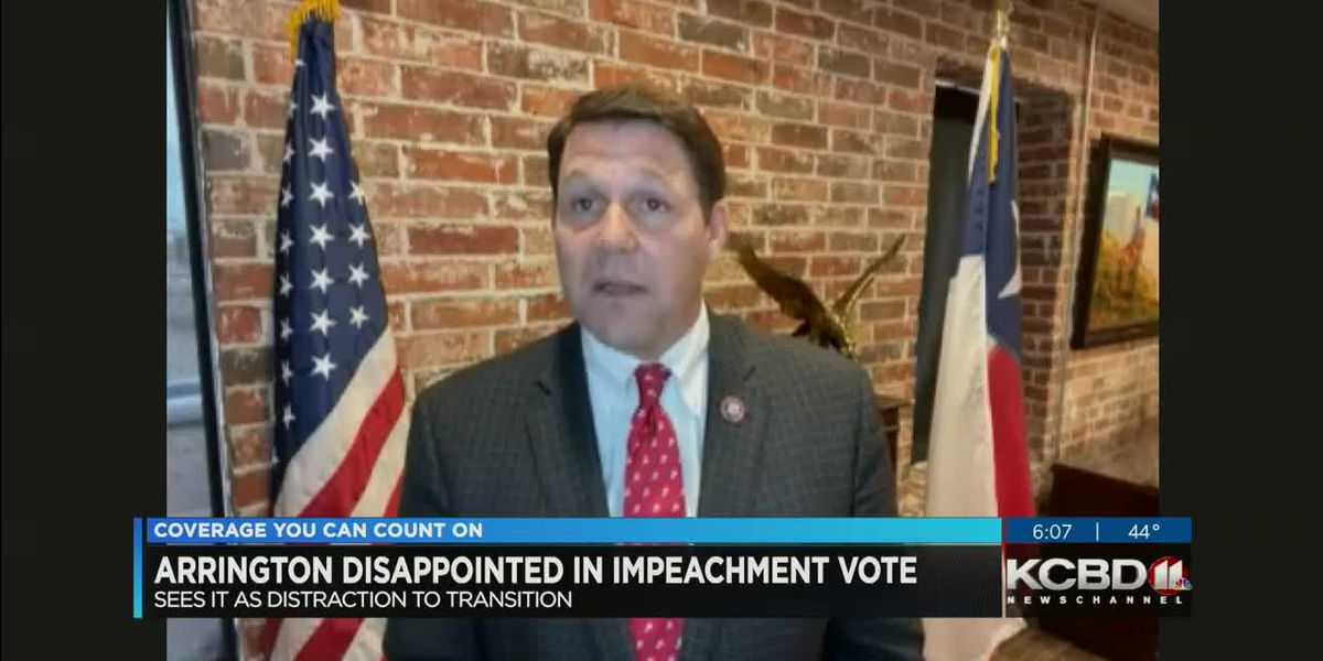 Arrington disappointed in impeachment vote