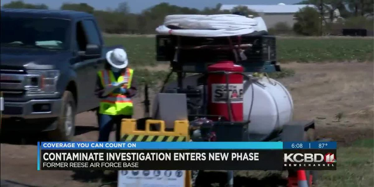 Air Force begins field investigation into extent of Reese water contamination